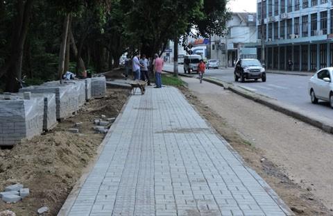 A previsão é que a obra deve ser concluída até o fim de janeiro -  Foto:Prefeitura de Tubarão/Divulgação/Notisul