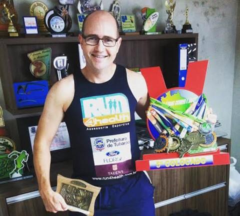 Peter disputa a última ultramaratona do ano  -  Foto:KBS Assessoria/Divulgação/Notisul