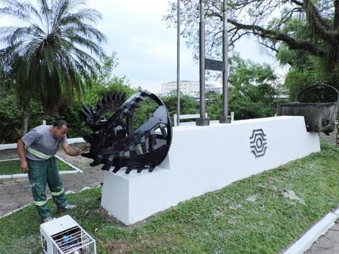 Diversas praças do município serão revitalizadas  - Foto:Divulgação/Notisul