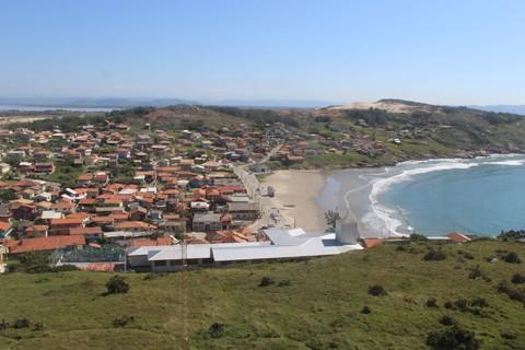 A Prainha do Farol de Santa Marta é indicada como imprópria na maioria dos relatórios da Fatma -  Foto:Elvis Palma/Divulgação/Notisul