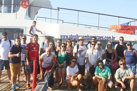 A comitiva esteve na Costa do Descobrimento e na Costa das Baleias, região similar às catarinenses  -  Foto:Sebrae-SC/Divulgação/Notisul