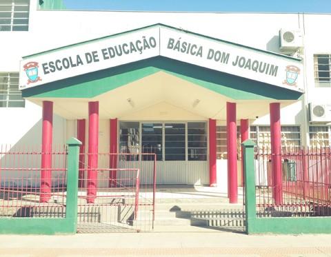 Amanhã completa uma semana do caso ocorrido na Escola de Educação Básica Dom Joaquim  -  Foto:Divulgação/Notisul