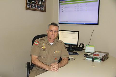 O comandante relatou as dificuldades enfrentadas e as funções desenvolvidas no trabalho  - Foto:Alice Goulart Estevão/Divulgação/Notisul