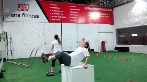 Os exercícios de Treinamento Funcional visam desenvolver e melhorar mais as habilidades motoras   -  Foto:Divulgação/Notisul
