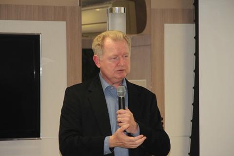 Carlos Stüpp administrou o município de 2001 a 2008 -  Foto:Jailson VieiralNotisul