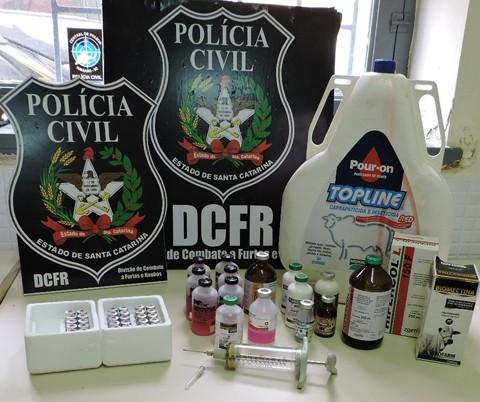 Foto: Polícia Civil de Tubarão/DCFRT/Divulgação/Notisul
