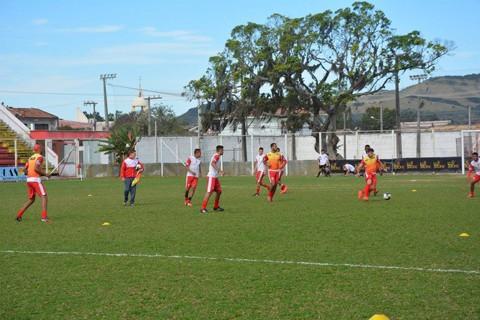 O elenco do Leão do Sul intensificou os  treinos nesta semana  - Foto:Divulgação/Notisul