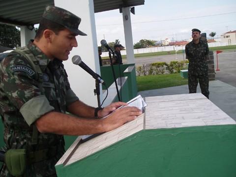 Major Pinho estará em Florianópolis para a posse do novo comando regional  -  Foto:Kalil de Oliveira/Notisul