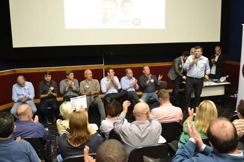 Plano foi apresentado na tarde desta sexta-feira, com o auditório lotado  -  Foto:Kélen Bardini/Divulgação/Notisul