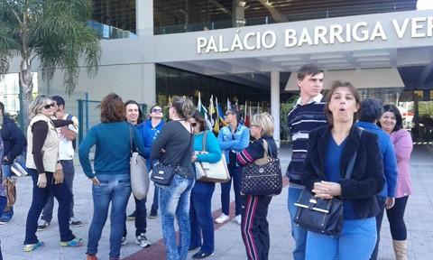Manifestantes voltarão a Florianópolis na próxima segunda  -  Foto:Divulgação/Notisul
