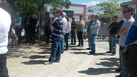Servidores estão em campanha salarial -  Foto:Divulgação/Notisul