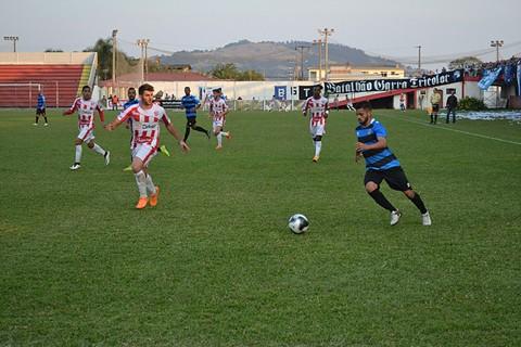 O time Tricolor venceu a primeira partida na casa da equipe Colorada por 3 a 0  -   Foto:C.A Tubarão/Divulgação/Notisul