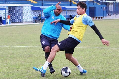 O elenco realizou o penúltimo treino nesta sexta-feira, em Tubarão - Foto:CA Tubarão/Divulgação/Notisul