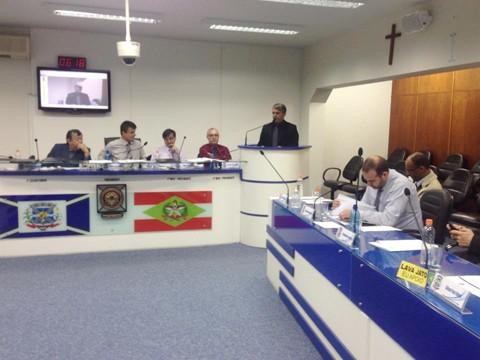 Foto: Câmara de Tubarão/Divulgação/Notisul.