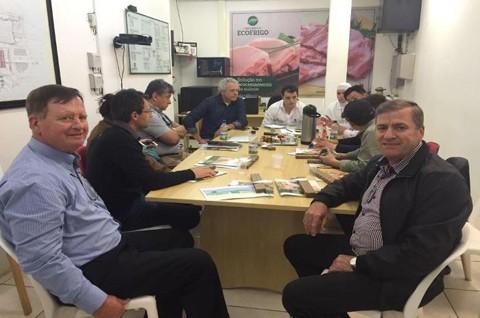Reunião foi considerada produtiva  -  Foto:Divulgação/Notisul