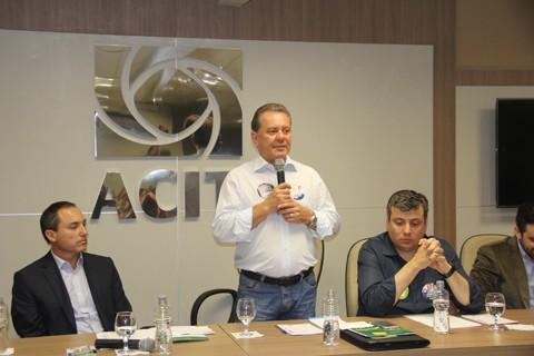 Joares disputa a prefeitura pela primeira vez. Em seu primeiro mandato como deputado, de 1999 a 2002, era conhecido como o 'trem pagador'  - Foto:Jailson Vieira/Divulgação/Notisul