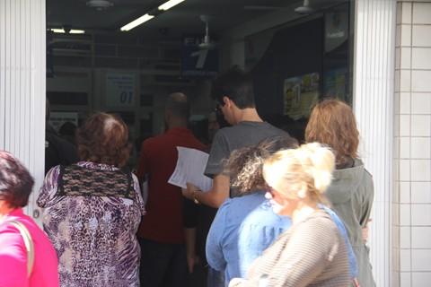 Movimento mais que dobrou nos correspondentes bancários  -  Foto:Kalil de Oliveira/Notisul