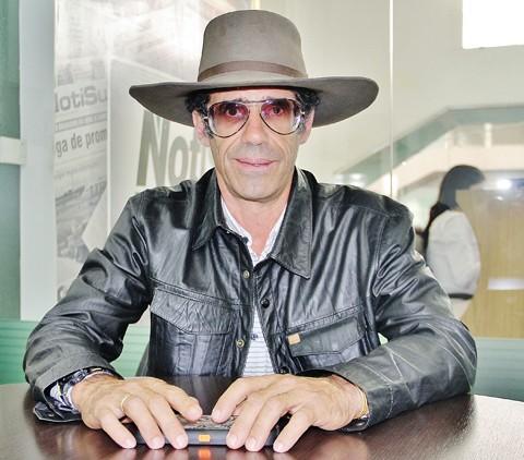 Sylvestre Cambe, vencedor do Emmy por duas oportunidades, palestra em Tubarão hoje à noite  -  Foto:Rafael Andrade/Notisul