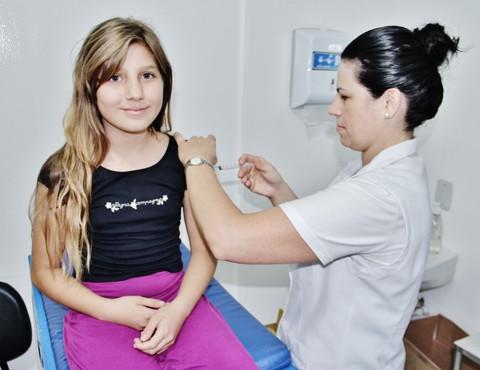 Objetivo é imunizar dois públicos: crianças com até 5 anos e adolescentes entre 9 e 15 anos  -  Foto:Rafael Andrade/Banco de Imagens/Notisul