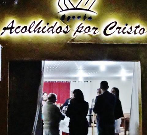 Cultos ocorrem às quartas-feiras e aos domingos, sempre à noite  -  Foto:Igreja Acolhidos por Cristo/Divulgação/Notisul
