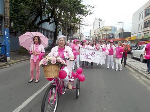 Cerca de 200 mulheres participaram do evento no sábado. - Foto: JB Guedes/Divulgação/Notisul.