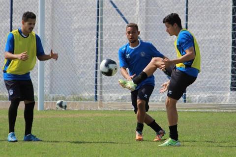 O elenco realizou a última atividade antes da partida ontem à tarde  -  Foto:William Lampert/Divulgação/Notisul