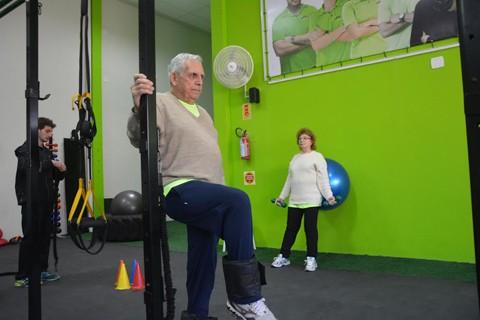 Valdir e Marina são avós modernos, tecnológicos e atletas  -  Foto: Fogaça Comunicação