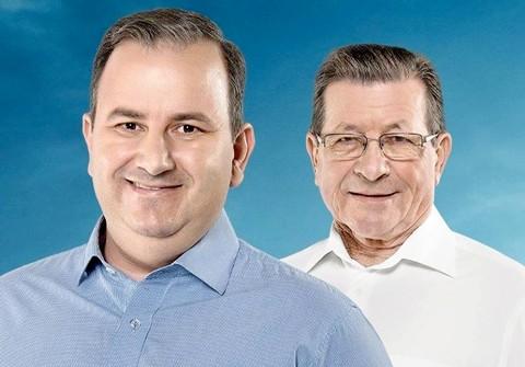 Deyvisonn e Louro comandarão o município a partir de 1º de janeiro  - Foto:Divulgação/Notisul