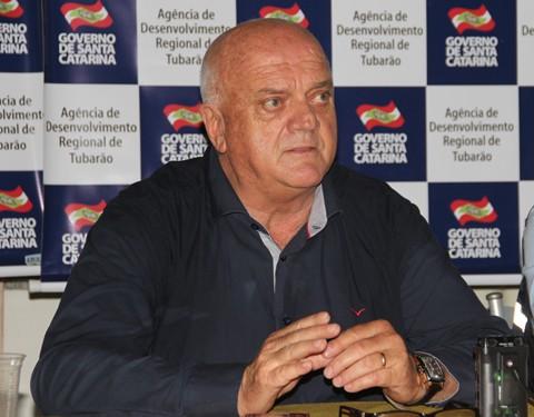 Prefeito Olavio Falchetti anunciou desistência de sediar os Jogos ontem à tarde  -  Foto:Rafael Andrade/Notisul