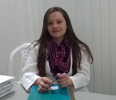 Priscila trabalha no Núcleo de Apoio à Saúde da Família  - Foto:Kalil de Oliveira/Notisul