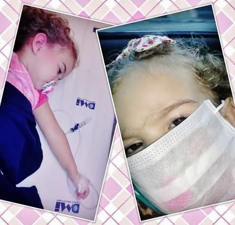 Isabelly tem 2,8 anos e uma série de problemas de saúde. Ela precisa da sua ajuda! Você pode colaborar!  - Fotos: Arquivo da família/Divulgação/Notisul
