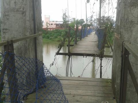 Nova ponte pode custar entre R$ 300 mil e R$ 350 mil   -  Foto:Kalil de Oliveira/Notisul