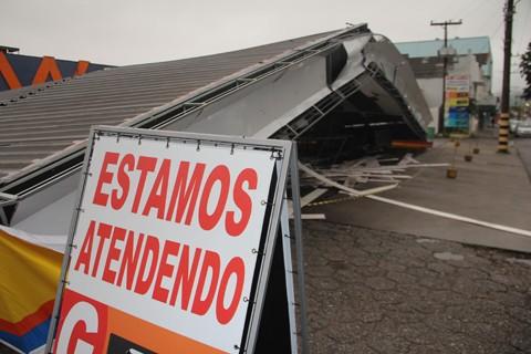 Dados dos estragos serão enviados ao Ministério da Integração Nacional, que destinará recursos à região  -  Foto:Rafael Andrade/Notisul