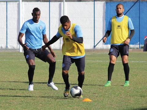 O elenco do Peixe realizou o penúltimo treino nesta sexta-feira  -  Foto:Willian Lampert/Divulgação/Notisul