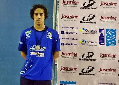 Marcos é um dos atletas com chances de medalha   -   Foto:Divulgação/Notisul