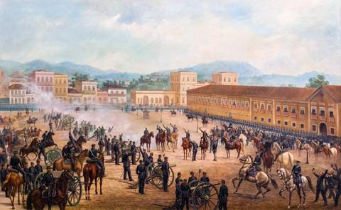 Marechal Deodoro exerceu a presidência entre 15 de novembro de 1889 e 26 de fevereiro de 1891 na qualidade de chefe do Governo Provisório  -  Foto:Divulgação/Notisul