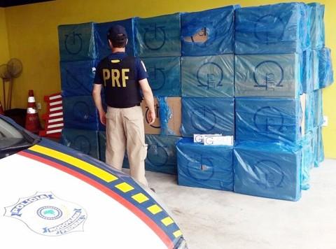 Foto: Polícia Rodoviária Federal/Divulgação/Notisul.