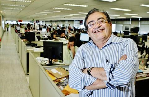 Vencedor do Prêmio Esso, jornalista e escritor José Nêumanne Pinto   -  Foto:Divulgação/Notisul