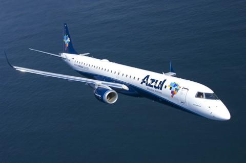 Operações da Azul  serão feitas com aeronaves Airbus modelo A319, cuja capacidade total é de 144 passageiros  -  Foto: Azul Linhas Aéreas