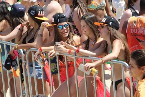 Público prestigiou os jogos e os shows neste fim de semana. Evento segue até esta quarta-feira, principalmente na Praia do Mar Grosso - Foto:Elvis Palma/Divulgação/Notisul