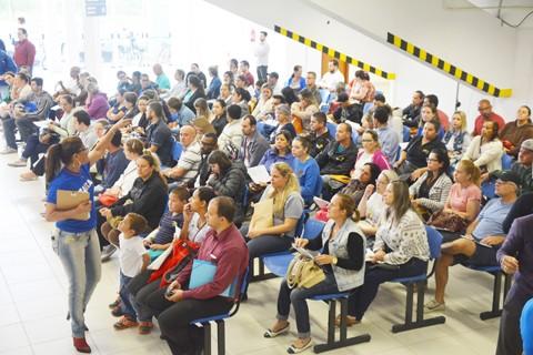 Titulares de conta serão atendidos por especialistas da Caixa na Arena Multiuso até o próximo dia 15 de dezembro. - Foto: Prefeitura de Tubarão/Divulgação/Notisul.
