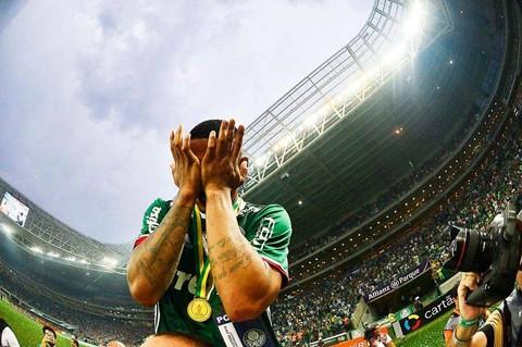 Gabriel Jesus, 19 anos, campeão com o Palmeiras e um dos destaques deste campeonato. - Foto: Divulgação/Notisul.