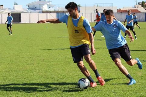 O grupo participou do penúltimo treino nesta sexta-feira  -  Foto:William Lampert/Divulgação/Notisul
