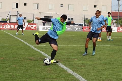 Penúltimo treino da equipe Tricolor ocorreu na tarde desta sexta-feira  -  Foto:Penúltimo treino da equipe Tricolor ocorreu na tarde desta sexta-feira