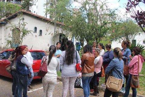 Agentes cobram um posicionamento do secretario de Gestão, Ricardo Alves  -  Foto:Jailson Vieira/Notisul