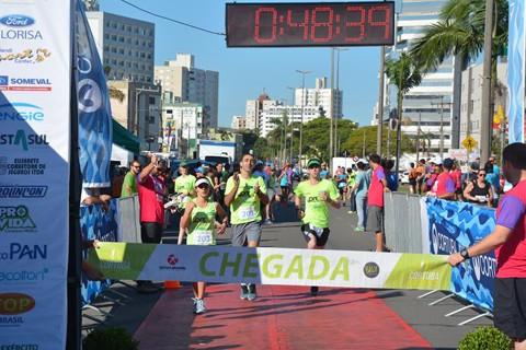 Neste ano, a prova reuniu 400 atletas de várias cidades da região. - Foto: Fogaça Comunicação/Divulgação/Notisul.