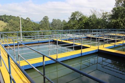 Premiação reconhece o projeto do reuso da água utilizada na Estação de Tratamento do Samae  -  Foto:Bertoldo Weber/Prefeitura de São Ludgero/Divulgação/Notisul