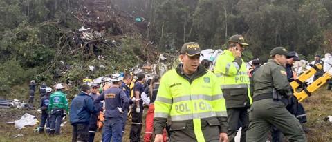 Setenta e cinco morreram no acidente aéreo  -  Fotos:Divulgação/Notisul