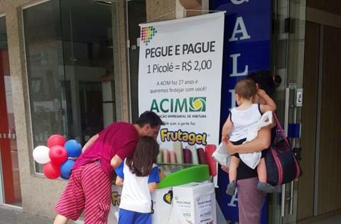 Atividade idêntica em escola da cidade apontou 35% de falta de pagamento   - Foto:Acim/Divulgação/Notisul