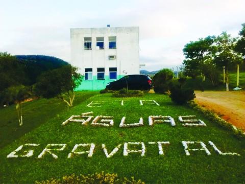 Estação de Tratamento de Água da Atlantis é responsável pela captação, tratamento e distribuição em Gravatal   -  Foto:Assessoria de Comunicação Atlantis/Divulgação/Notisul
